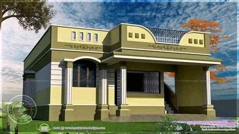 single floor house plans in tamilnadu house designs photos in tamilnadu youtube