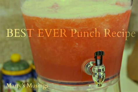easy wedding shower punch recipes frozen jello punch