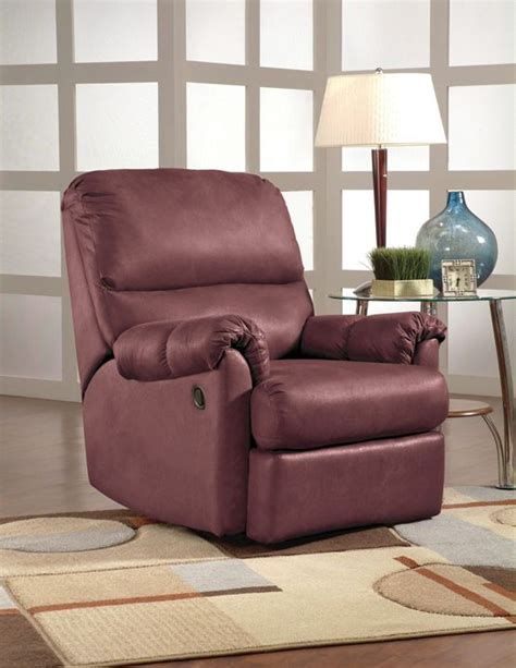 Kimbrell Furniture by Quot Wall Hugging Quot Recliner From Kimbrell S Furniture Available In Burgundy Or Chocolate