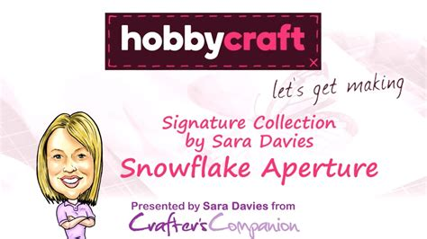 how to make an aperture card how to make a snowflake aperture card hobbycraft