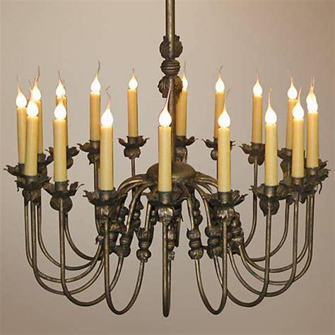 Large Candle Chandelier Venus 18 Light Large Candle Chandelier R5373 Ls Plus