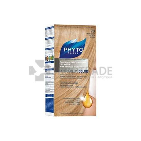 farba za kosu cilibar plava phytocolor 9d farba za kosu veoma svetla zlatno plava