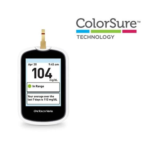 One Touch Glucose Meter onetouch verio blood glucose meter onetouch 174