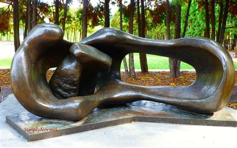 henry moore reclining mother and child minneapolis sculpture garden simply norma