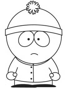 South park character stan coloring page h amp m coloring pages