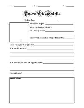 biography worksheet pdf explorer biography worksheet by helpful high school