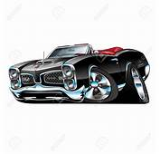 Muscle Car Cartoon Drawings Drawing Stock