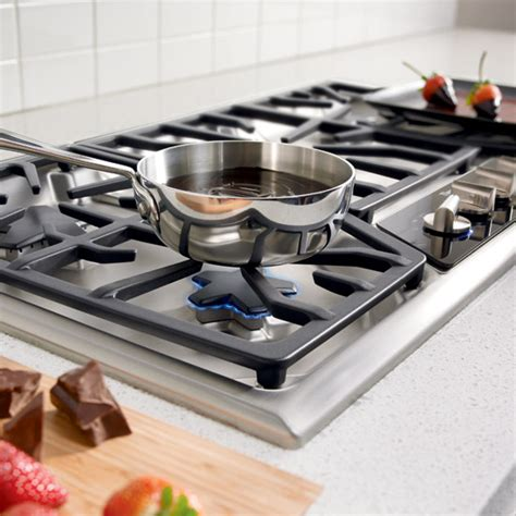 High End Gas Cooktops 36 inch masterpiece 174 series gas cooktop sgsx365fs
