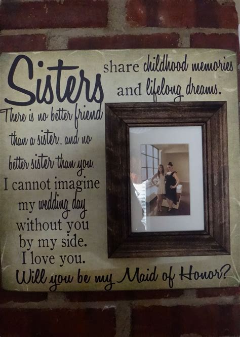 Maid of Honor Proposal for a sister   The Maids   Wedding