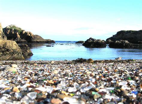 glass beaches beaches of galss replenishment