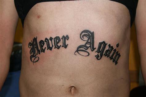 never again tattoo never again ink asylum own work