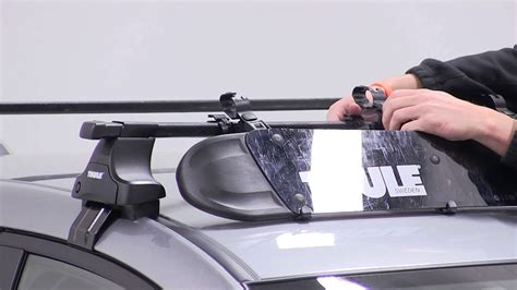 How To Remove Thule Roof Rack by Review Of The Thule Roof Rack Fairing On A 2015 Mazda Cx 5