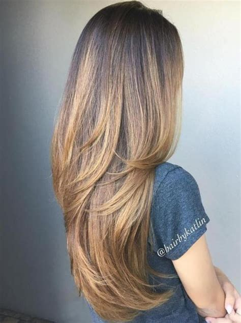 hairstyles for long hair balayage 80 cute layered hairstyles and cuts for long hair brown