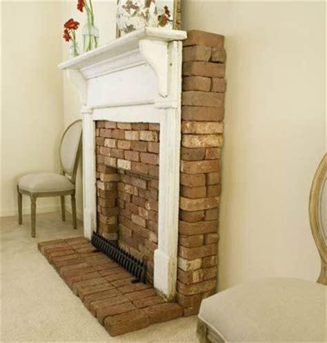 faux brick fireplace home ideas