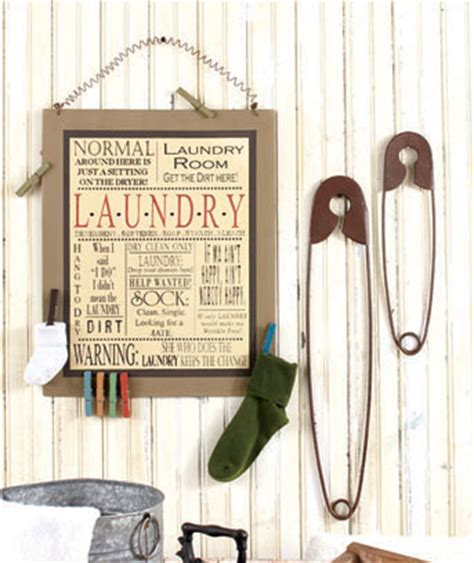 Laundry Room Wall Decor The Lakeside Collection Wall Decor For Laundry Room