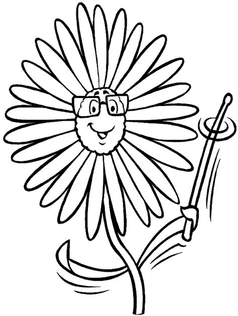 beautiful sunflower coloring pages to print kids