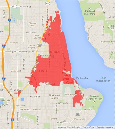 Seattle City Light Outages by School Day Of Class Power Outages Updates