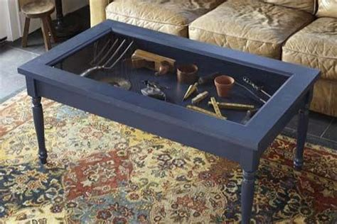 how to build a display coffee table shadow box coffee