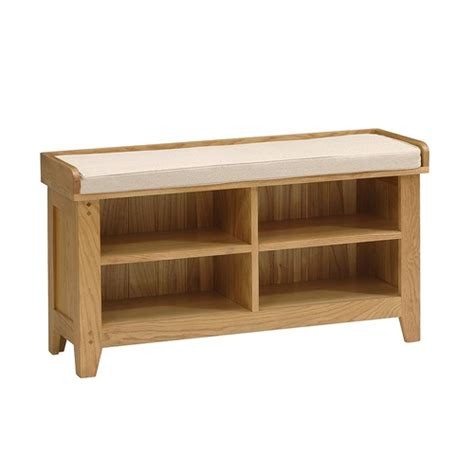 oakland shoe bench and cushion k267 with free delivery