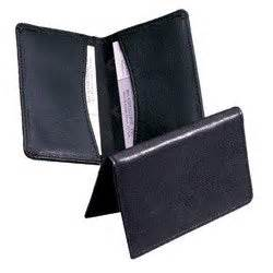 business cards wallet samsill regal leather business card holder
