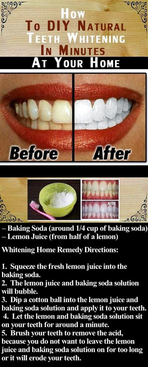 diy natural teeth whitening  minutes   home