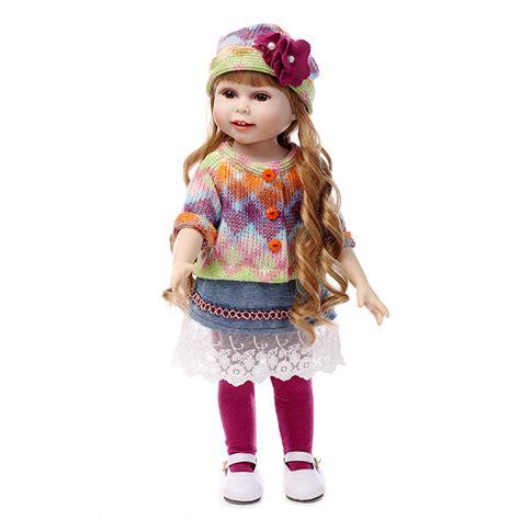 Girlset Doll 45cm american dolls silicone reborn dolls kid s