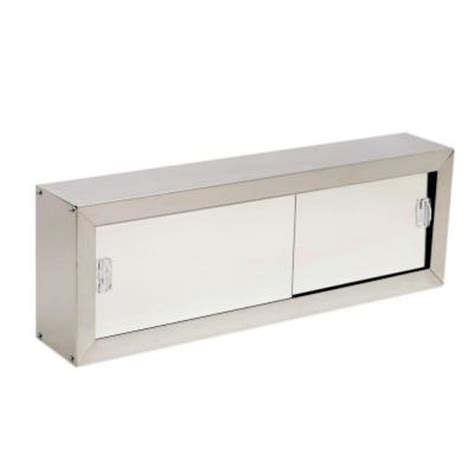 stainless steel sliding door mirrored cabinet 500 h 340 w zenna home 24 in x 8 75 in cosmetic surface mount