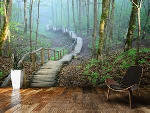 Forest Wall Mural Wallpaper 17 best ideas about forest mural on pinterest forest