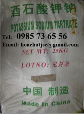 Potassium Sodium Tartrate Kalium Natrium Tartrat kali natri tartrate knac4h4o6 4h2o