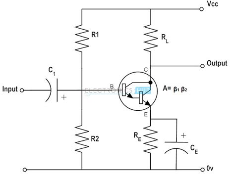 darlington transistor configuration pnp and npn darlington pair transistor lifier circuits