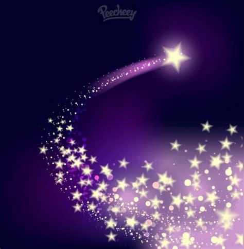 Shooting Twinkling Star On The Purple Background Free Free Twinkle Purple Backgrounds