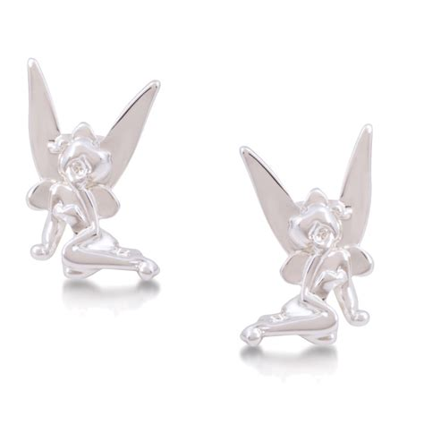 Disney Couture Tinker Bell Bamboo Earrings by Disney Couture Tinkerbell Earrings Earrings At