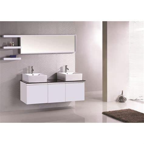 meuble sous vasque 426 meuble vasque b083 blanc achat vente meuble