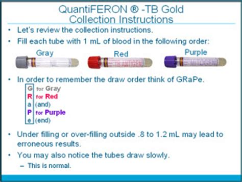 test quantiferon quantiferon tb gold test procedure