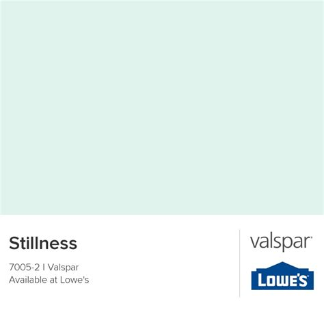 stillness from valspar