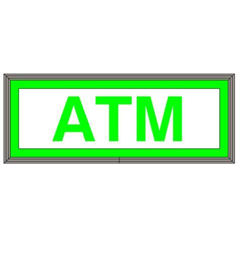 Sign Led Atm backlit led atm sign green green backlit led atm sign