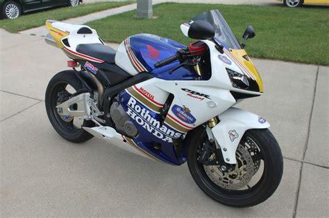 honda 600rr 2005 2005 honda cbr 600rr sportbike for sale on 2040 motos