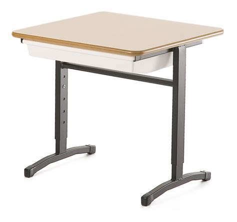 Adjustable Height Single Student Desk Bfx Furniture Adjustable Student Desk