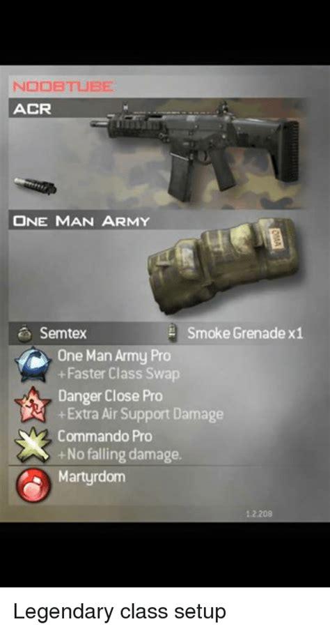 noob tube acr  man army smoke grenade  semtex  man