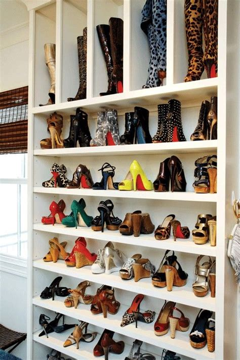 ideas closets zapatos  como organizar la casa