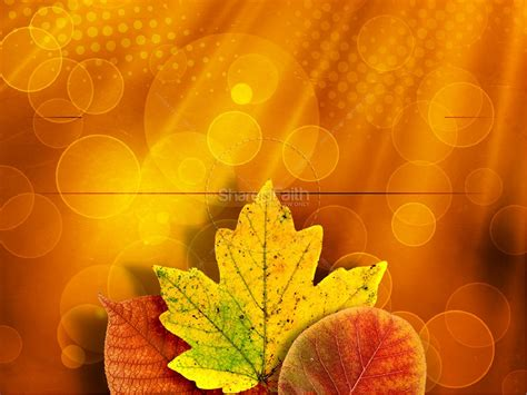 Happy Thanksgiving Powerpoint Template Fall Thanksgiving Thanksgiving Powerpoint Backgrounds