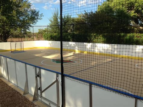 backyard hockey rink d1 backyard rinks synthetic ice basement or backyard