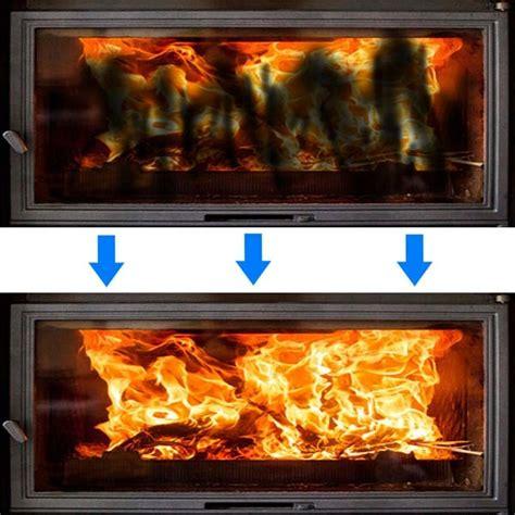 Nettoyer Vitre Cheminee cheminee insert nettoyage vitre