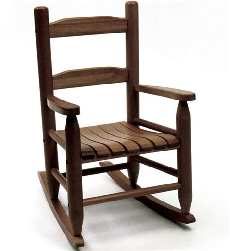 childrens rocking chair walnut in furniture