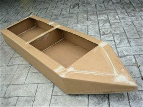 how to build a boat out of cardboard summer c rock paper scissors design dazzle