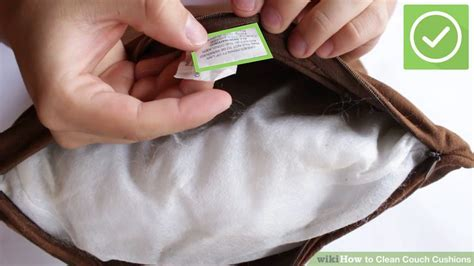 how to clean your couch cushions 4 ways to clean couch cushions wikihow