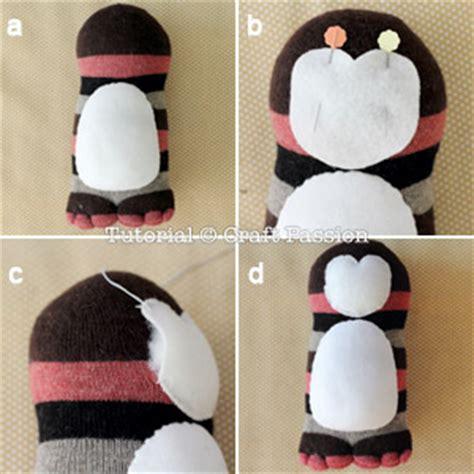 diy sock penguin sock penguin free sewing pattern craft page
