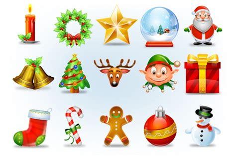 30 set icon dan font untuk membuat gambar ucapan natal pusat gratis