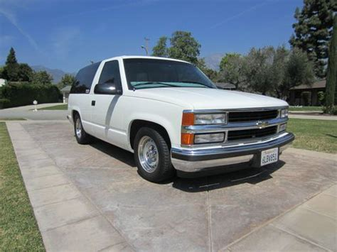 auto air conditioning service 1999 chevrolet tahoe transmission control purchase used 1999 2 door tahoe 2 wheel drive barn doors in upland california united states