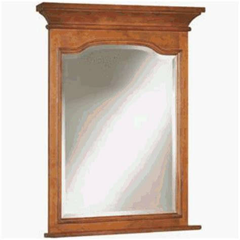 Amazon Com Sunny Wood Cb3038mr Cambrian 30 Quot Framed Bevel Maple Bathroom Mirror